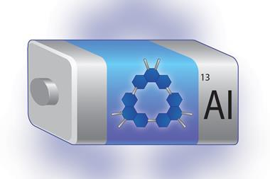 A representation of an aluminium battery