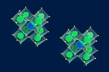 An image showing perovskite crystal structures
