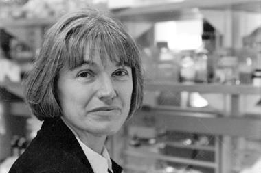 A portrait of Karen Wetterhahn