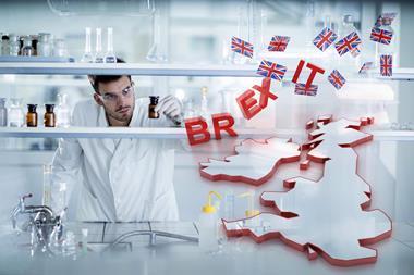 UK science after brexit concept artwork