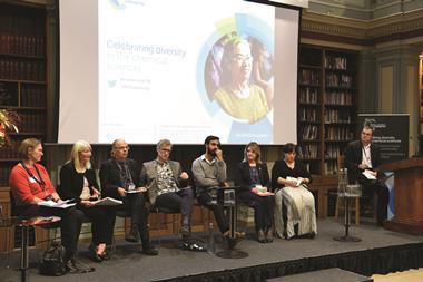 Celebrating diversity in the chemical sciences event, at Burlington House, 13th November 2017