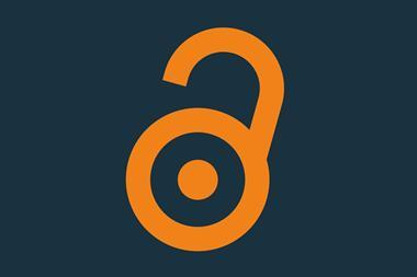 An image showing the open access symbol