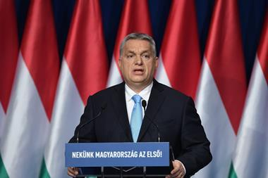 An image showing the Hungarian Prime Minister Viktor Orban