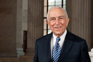 Official portrait of United States Senator Frank Lautenberg (D-NJ).