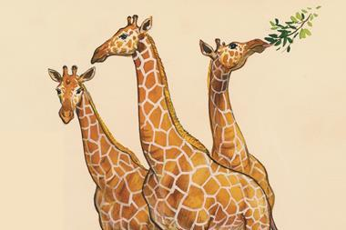 0817CW - The Crucible - Evolution according to Darwin - giraffes drawing - Index