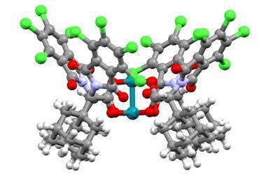 Dirhodium catalyst 3D structure