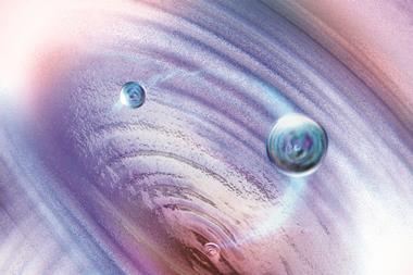 Quantum tunnelling conceptual artwork