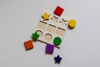 A picture of a shapesorter