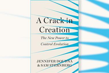 Cover of A Crack in Creation by Jennifer Doudna & Sam Sternberg