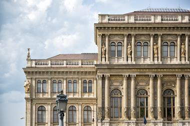 A picture of the Hungarian Academy of Sciences