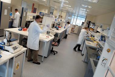 MedImmune laboratory