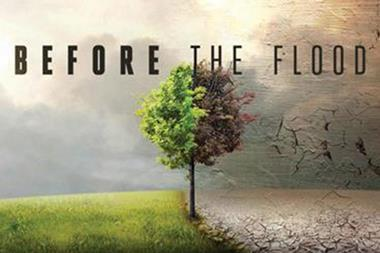 Poster of the film Before the flood