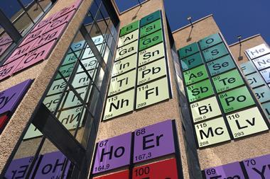 The largest periodic table
