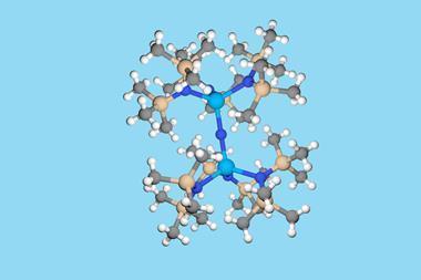 thorium nitride flat image