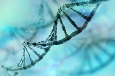 DNA strand flipped