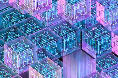 3D Render of Qubits