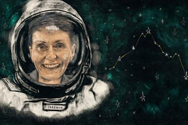 Helen Sharman portrait illustration