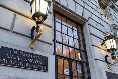 Washington DC, USA - January 28, 2017: Environmental Protection Agency EPA headquarters