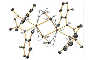 Crystal structure of benzene compound