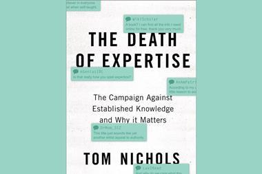 The death of expertise - Index