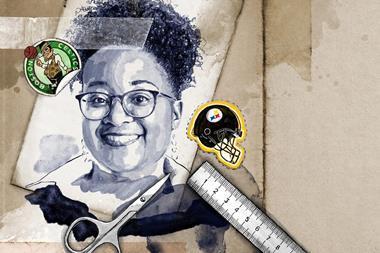 Malika Jeffries-El, portrait illustration