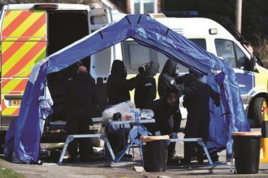 0418CW - News leader - Salisbury nerve agent investigations