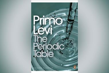 An image showing The Periodic Table by Primo Levi book cover