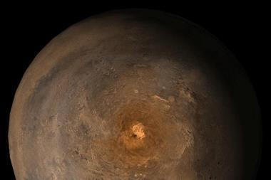 Mars at Ls 357°
