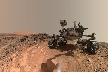 Self-portrait of NASA's Curiosity Mars rover