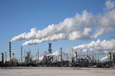 An image showing the Petro-Canada Refinery