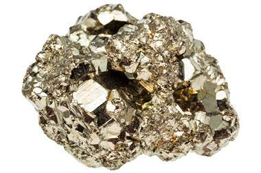 Iron pyrite (fool's gold)