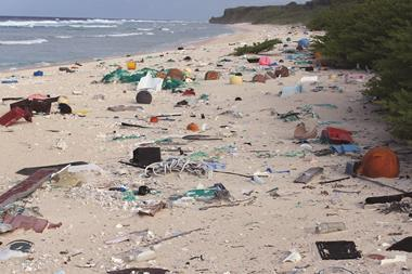0717CW - Critical Point - Plastic rubbish on Henderson Island, east beach - hero