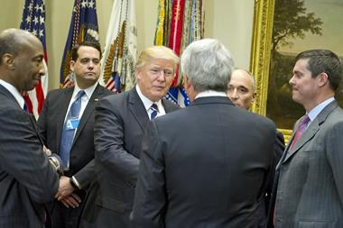 President Donald Trump meets with representatives of PhRMA - Index