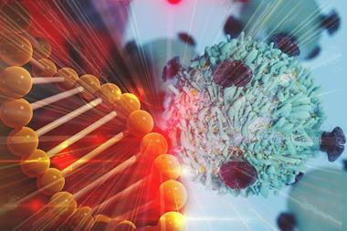 Gene and cell therapy concept image