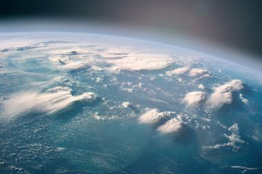 A picture of planet Earth