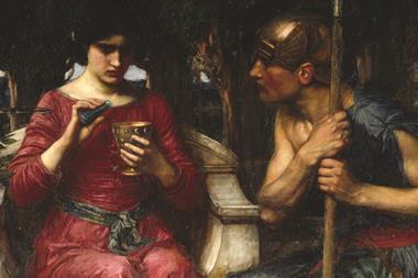 Jason and Medea painting by John William Waterhouse