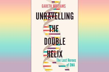 An image showing the cover of Unravelling the double helix