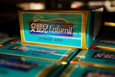 Mead Johnson, Enfamil baby formula product