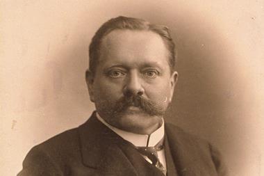 Theodor Curtius portrait