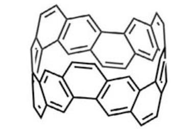 Carbon nanobelt structure