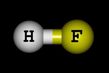 Hydrogen fluoride molecular structure - Index