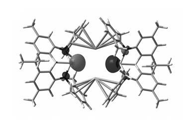 Electronic structure of potassium aluminyl compound