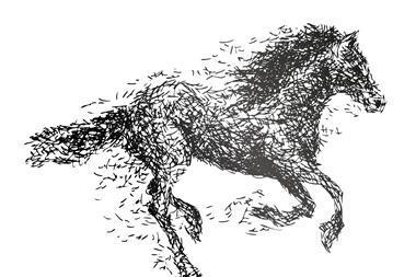 0917CW - In the Pipeline - Dark horse concept illustration