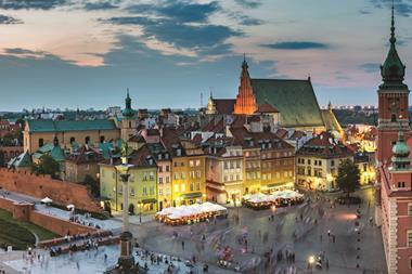 Warsaw, Poland - panoramic view