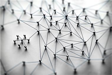 A representation of a network