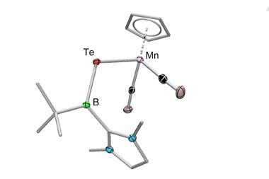 POV-Ray crystallographically determined structures of compounds