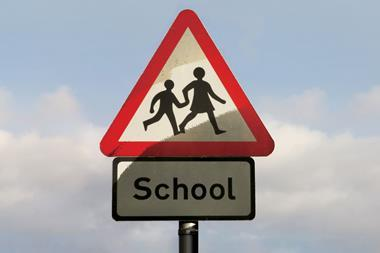 An image showing a children crossing sign
