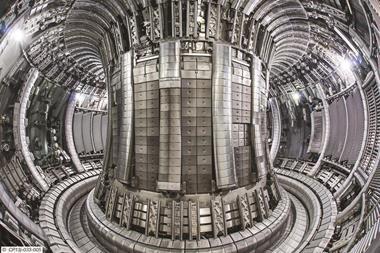 Joint European Torus (JET) plasma chamber