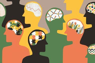 Illustration concept for mental health