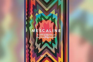 An image showing the book over of Mescaline